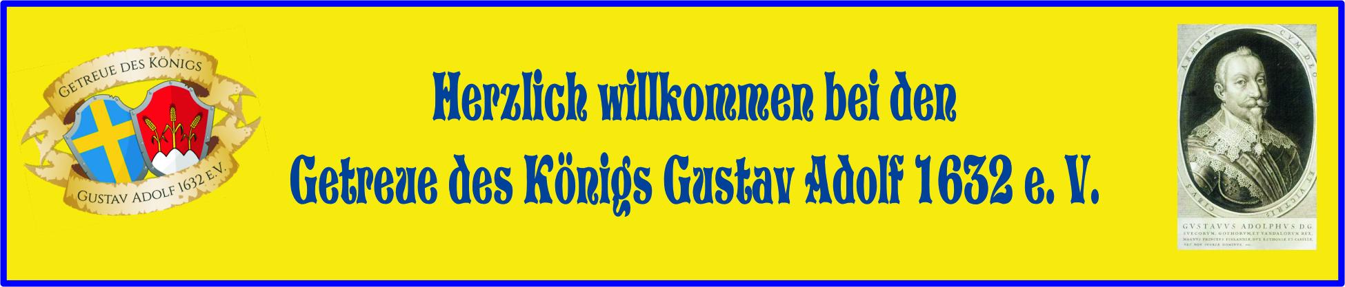 Getreue des Königs Gustav Adolf 1632 e.V. Logo